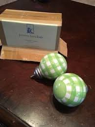 Comenity Pottery Barn Kids Pottery Barn Kids Green Gingham Finials Set Of 2 Ebay