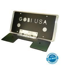 lexus accessories license plate license plate cover gobi racks