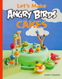 Cake Decorating Books Online Decorate A Red Angry Bird Cupcake From The Book Let U0027s Make Angry