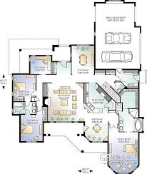 large floor plans house plan w3212 detail from drummondhouseplans com