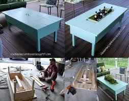 Patio Table Beer Cooler 13 Diy Cooler Table Plans To Build For Outdoor Beer Drinks Or