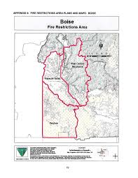 Current Wildfire Map Idaho by Idaho Fire Information Fire Restrictions To Be Implemented In