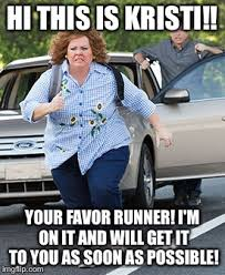 Soon Car Meme - melissa mccarthy running memes imgflip