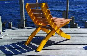 Canvas Deck Chair Plans Pdf by Dock Chair Popular Woodworking Magazine