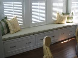 ordinary window seat for sale with wooden lined seat windows