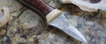 Anthony Bourdain Knife The Edisto Custom Oyster Knives Handcrafted Oyster Knives