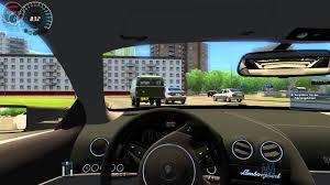 city car driving lamborghini 002 let s play city car driving hd lamborghini