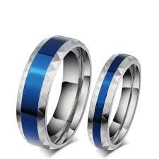 gear wedding ring blue line officer ring aspire gear