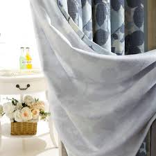 aliexpress com buy tree curtains linen for windows blue curtains