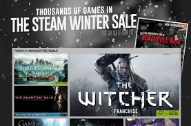 Winter Deals On S Steam Winter Sale Kicks With Deals On The Witcher 3 Metal