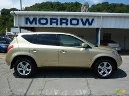 gold nissan car 2003 luminous gold metallic nissan murano sl awd 33606004
