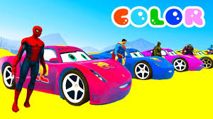 2017 Design Colors Learn Colors For Kids With 3d Lightning Mcqueen U0026 Monster Truck