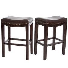 bar stools white low back upholstered bar stools julien leather