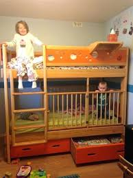 Loft Bed With Crib Underneath Loft Bed With Crib Underneath Best Bunk Bed Crib Ideas On Cot Bunk
