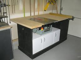 how to build a table saw workstation pdf table saw workstation plans free plans free