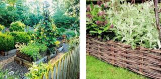 garden edging wood