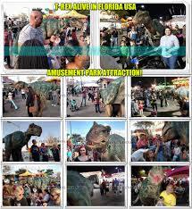 dinosaur suit rent in florida usa animatronic dinosaur