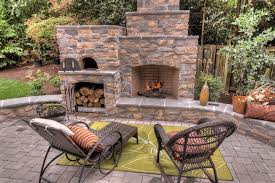Pizza Oven Outdoor Fireplace by Eclectic Outdoor Fireplaces Patio Traditional With Pizza Oven