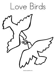 bird coloring page love birds coloring page twisty noodle