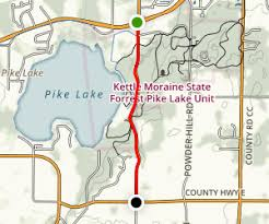 wisconsin scenic drives map kettle moraine scenic drive kettle moraine state forest