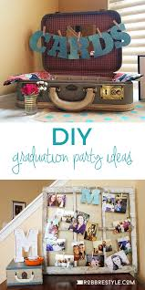 party ideas diy graduation party ideas robb restyle
