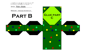 christmas tree cubeecraft 2 by melopruppo on deviantart
