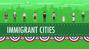growth cities and immigration crash course us history 25 youtube