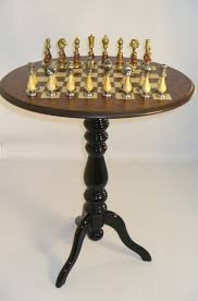 chess table game tables