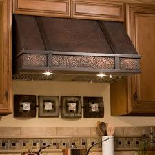 copper hammered range hood signature hardware