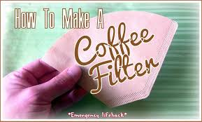 diy coffee filter using a paper towel life hacks youtube