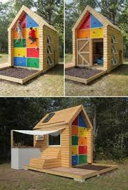 Backyard Play Houses by 31 Free Diy Playhouse Plans To Build For Your Kids U0027 Secret