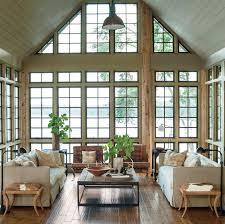 Houses With Big Windows Decor Lake House Decorating Ideas Houses Decor Pinterest House