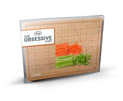 amazon com fred the obsessive chef bamboo cutting board 9 inch