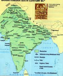Pune India Map by Map Of Bharat Varsha Great India During The Mahabharata Hindu Sutra
