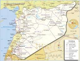 Political Map Of The Middle East by Download Syria Middle East Map Major Tourist Attractions Maps