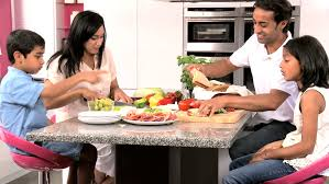 a family gathering at the dinner table stock footage video 1637314