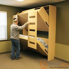 Wall Bunk Bed Folding Wall Bunk Bed Plans Walls Decor
