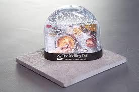 gift card snow globe snow globe fondue gift card 25 the melting pot restaurant