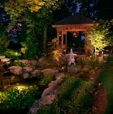 Solar Lights Garden Using Solar Lights In Landscape Design Solar Garden Decor