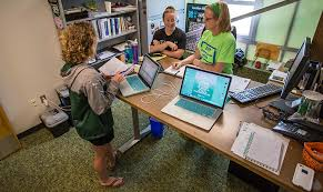 Standing Desks For Students Sru Faculty Standing Up For A Healthier Future Slippery Rock