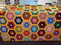flower garden quilt pattern grandmother u0027s flower garden
