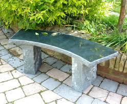 diy curved bench stone benches for sale aifaresidency diy stone garden bench curved