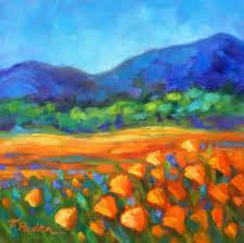 pin colorful landscape paintings 07 on pinterest colorful