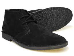 red tape gobi black men u0027s suede desert boots uk 7 12 rrp 50 free