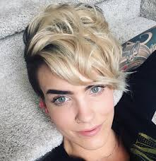 shaved sides haircut square face top 30 trending female undercut hairstyles for any face shape