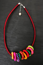 cord necklace making images Silk cord necklace favecrafts jpg