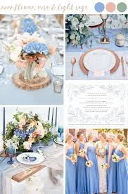 5 stylish summer wedding palettes paired with seed paper wedding