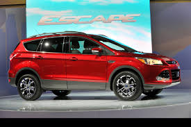 Ford Escape Suv - watch the new ford escape kuga suv on film