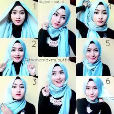 tutorial hijab pashmina untuk anak sekolah tutorial hijab pashmina model sekarang tutorial hijab paling