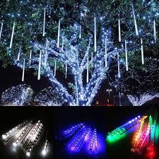 outdoor string lights rain sale keep moving rgb tubes falling star rain drop led shooting